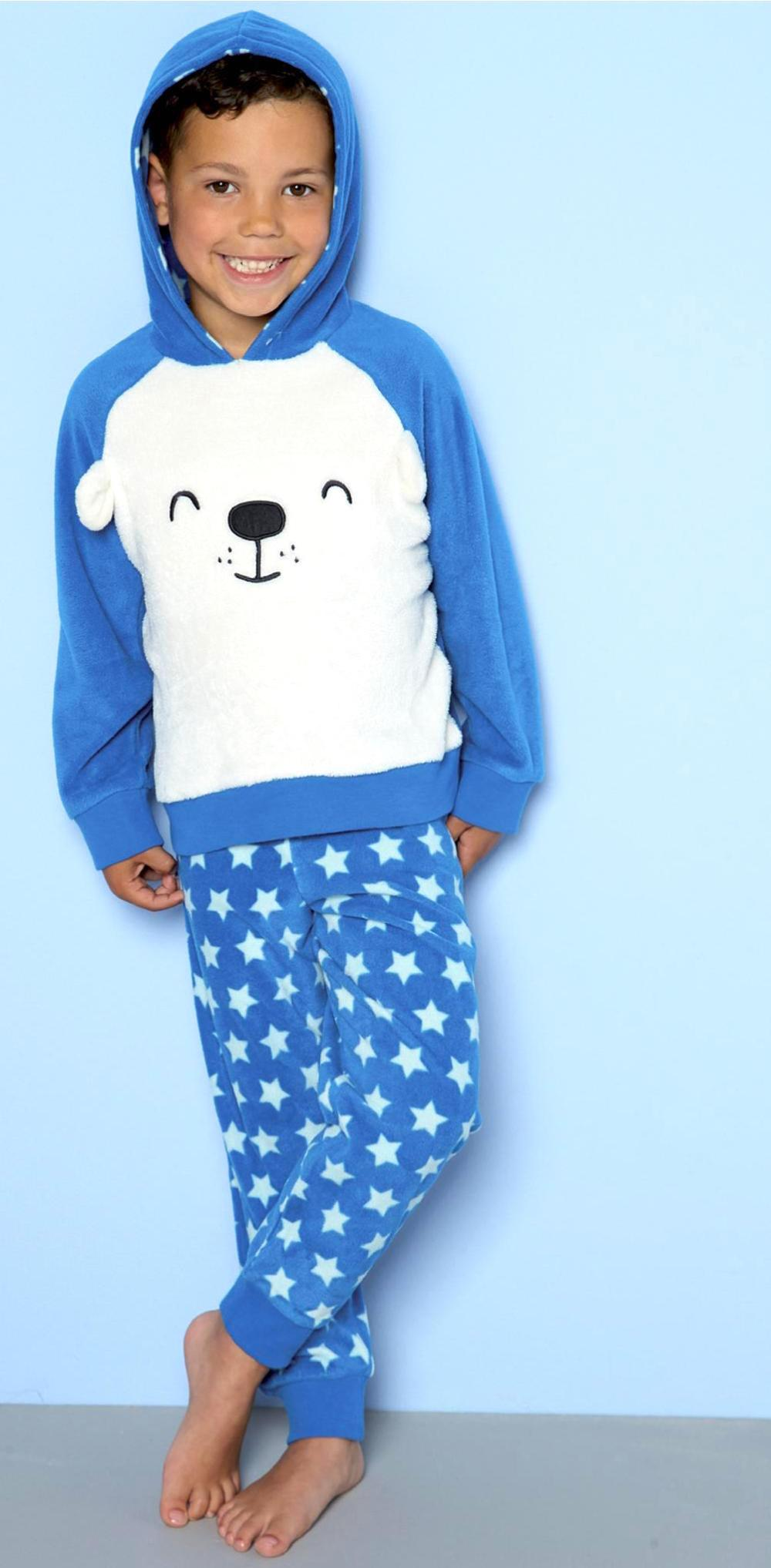 Luka - Fleece Teddy PJ's (for INSTA)
