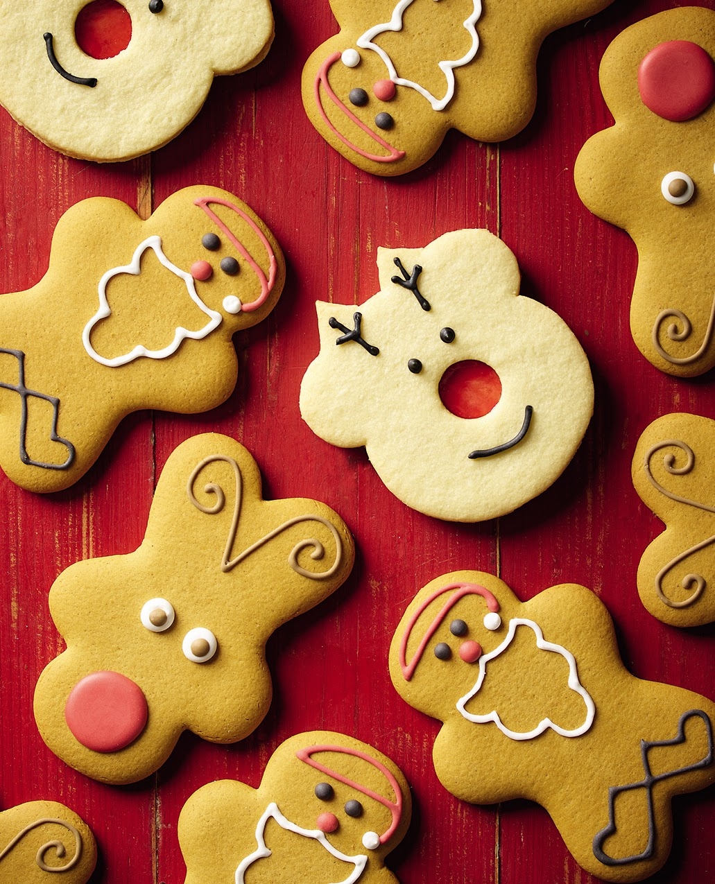 Morrisons Rudolph And Santa Biscuits High Res Boss Agencies