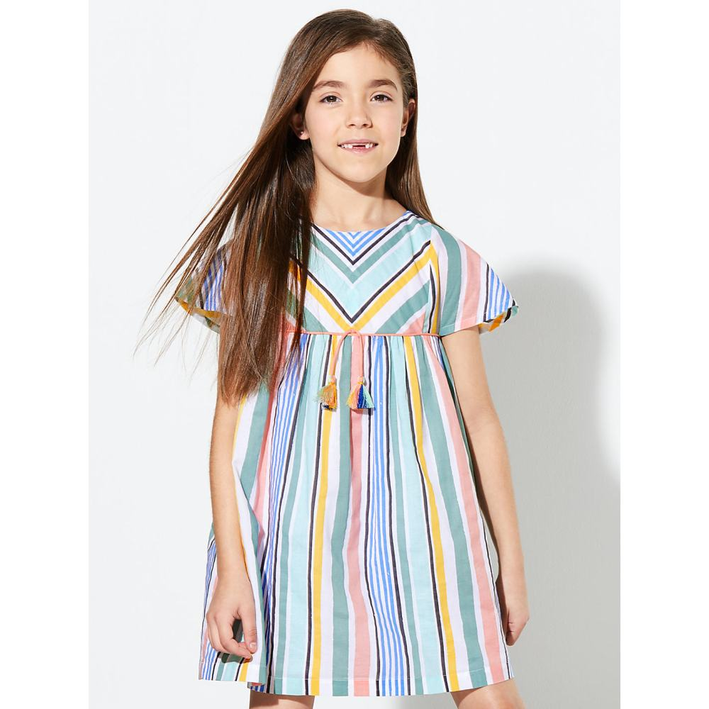 Freya - Stripe Dress (for INSTA)