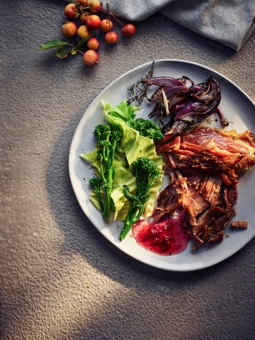 POWERHOUSE TEST - breast of lamb dish