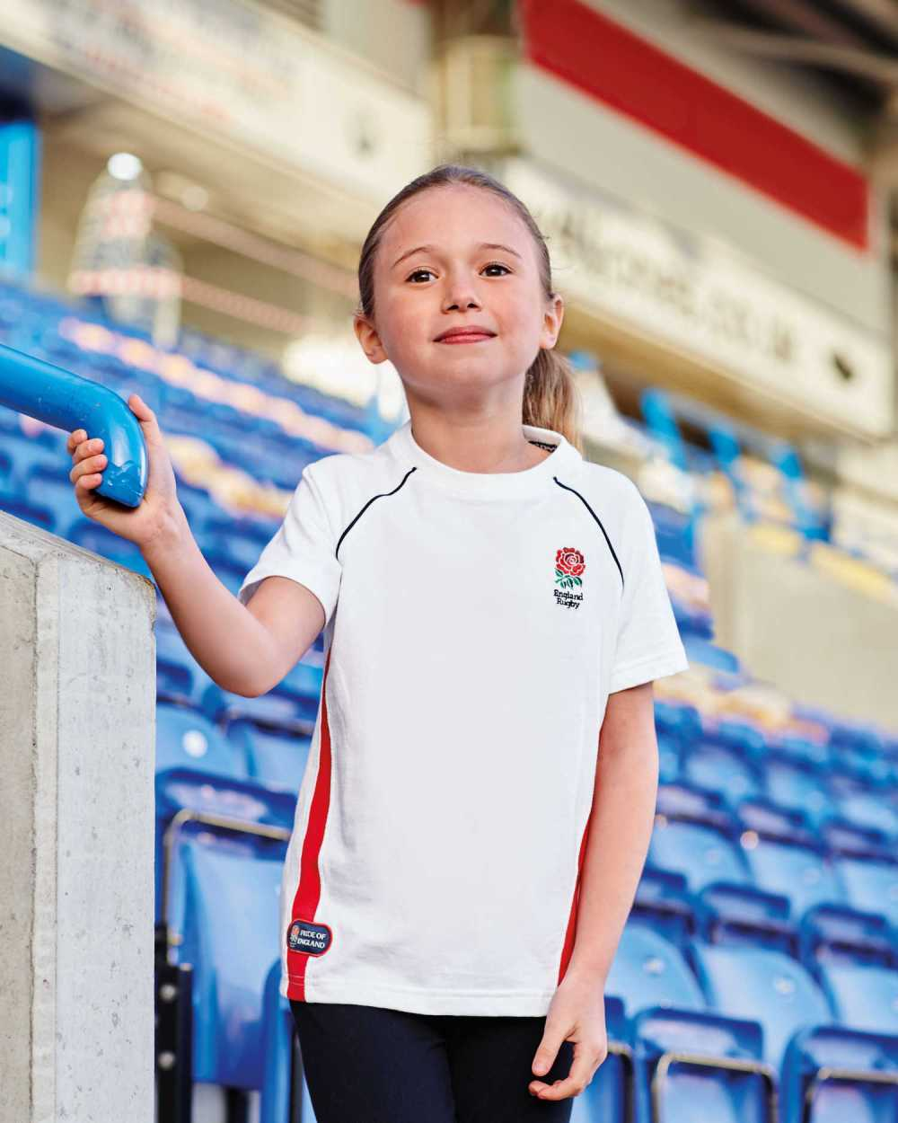 Lucia Morley - Children's-Rugby-T-Shirt-England
