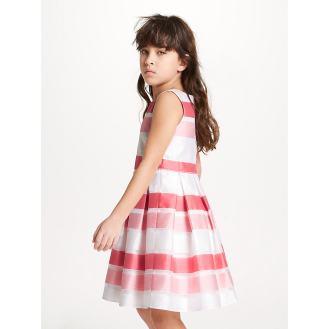 Sadie - Striped Heirloom Dress